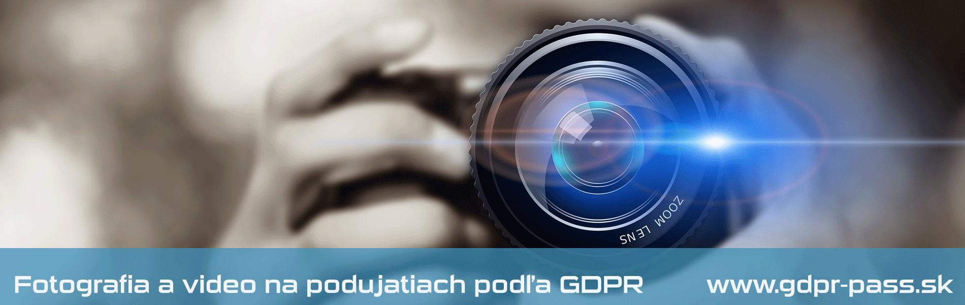 Fotografia a video na verejných podujatiach podľa GDPR | GDPR-PASS.sk