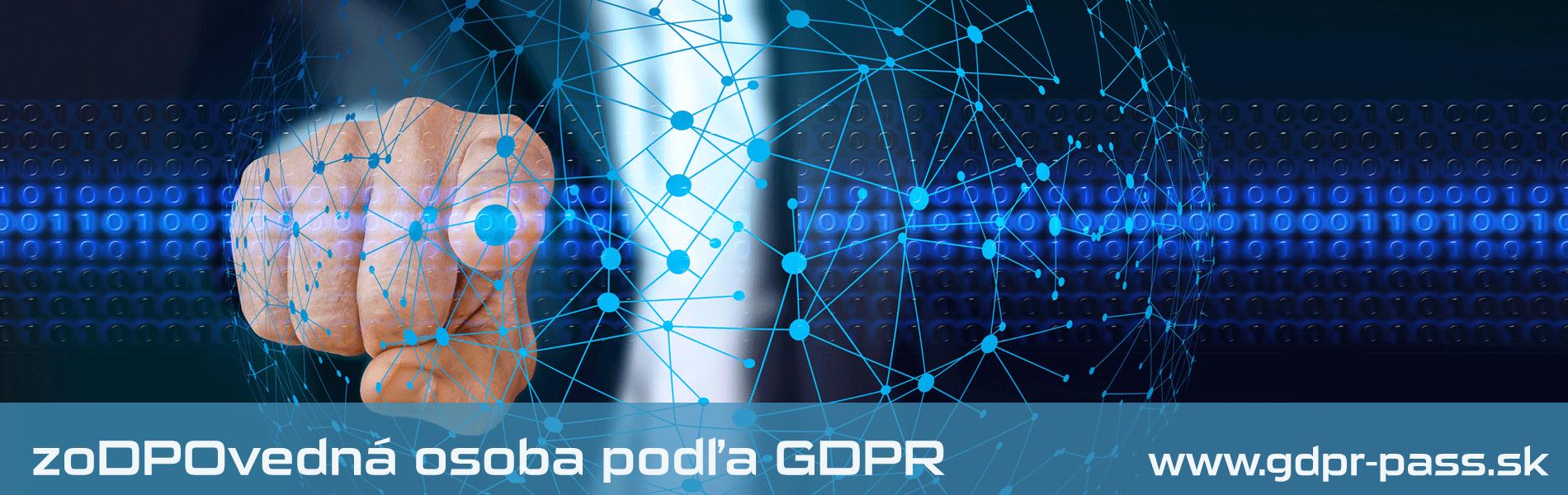Zodpovedná osoba podľa GDPR | GDPR-PASS.sk