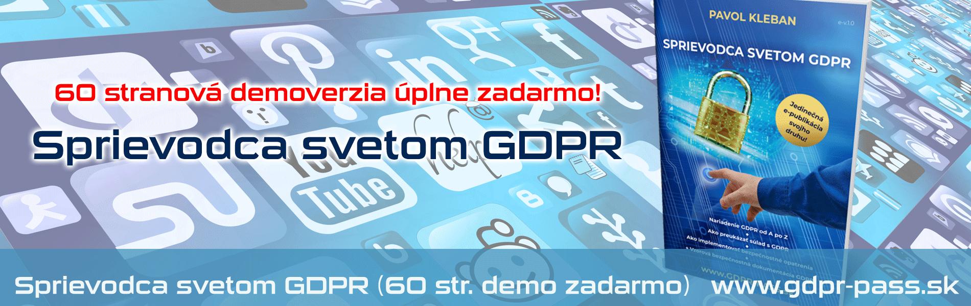 Sprievodca svetom GDPR | GDPR-PASS.sk